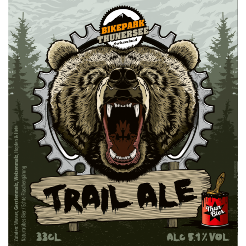 Thunbier Trail Ale Flasche 33cl